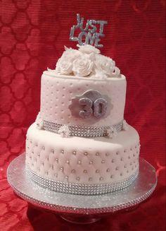 Gâteau 30 ième anniversaire de mariage