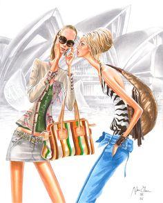 MODERNE ILLUSTRATION .... Diskussion om LiveInternet - Russian Online Diaries Service Fashion Illustration Sketches, Fashion Sketchbook, Love Illustration, Illustration Artists, Fashion Sketches, Fashion Drawings, Fashion Prints, Fashion Art, I Love Fashion