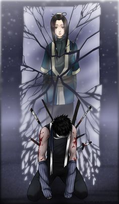 zabuza and haku. They died good deaths... <-- still, I'm going to be sitting in a corner, crying my eyes out #ad