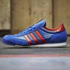adidas dragon blue red