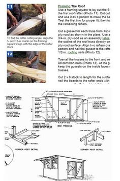 If you have a family you need to build a backyard shed roof that's safe for children. Put a child in a yard along with a mysterious shed, and you can do the math Backyard Sheds, Outdoor Sheds, Backyard Patio, Shed Design, Plan Design, Cabin Design, Garden Design, Free Shed Plans, Simple Shed