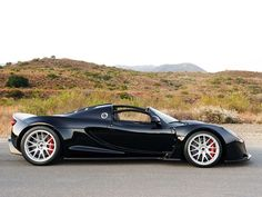 Hennessey Venom GT Spyder: on my buy list. Currently holds the top speed record of mass produced cars. #hennesseyvenomgt