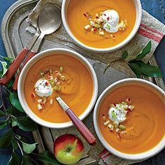 Carrot-Apple Soup | MyRecipes.com