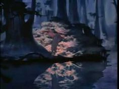 Fantasia - Deleted Scene: Clair De Lune    Every time I rediscover this, I watch it multiple times in a row with my mouth hanging slightly open. I wish they would have left this in the final cut.