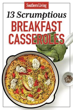 13 Scrumptious Breakfast Casseroles | Whether you're looking for eggs, bacon, or grits, we're sure you'll find all of your favorite breakfast flavors in our collection of breakfast casseroles.