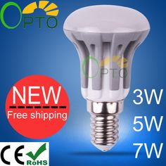 Dimmable New arrival  LED Bulb  E14 E27 3W 5W 7W  led lamp 185V-265V warm white/white/cool white 1pcs/lot R39 R50 R63 - http://www.aliexpress.com/item/Dimmable-New-arrival-LED-Bulb-E14-E27-3W-5W-7W-led-lamp-185V-265V-warm-white-white-cool-white-1pcs-lot-R39-R50-R63/1417158319.html