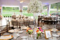 Wheat Pintuck Table Linen, Gold Charger Plate, Ivory Napkin #hudsonvalleyweddings