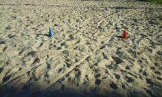 Atendimento na praia.