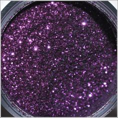 MAC purple glitter loose pigment