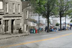 THEN AND NOW: Thomas Frazer and Company Slave Auction House, Atlanta, 1864
