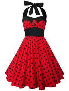 Check out this item in my Etsy shop https://www.etsy.com/listing/207138665/lady-mayra-ashley-polka-dot-dress