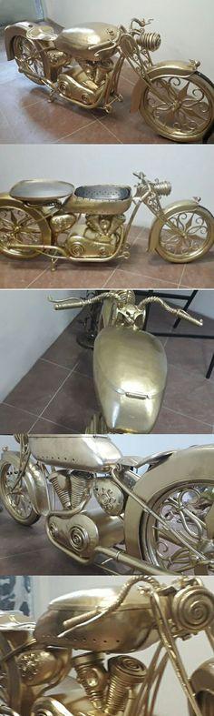 г.Калуга, Motogoods (@motogoodspro) в Instagram: «Мотоцикл мангал в золоте #мотоцикл #мангал по вопросам цены и за подробностями по приобретению…»