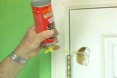 How to Repair a Hole in a Hollow Core Door Ron Hazelton Online DIY Ideas Projects Home Improvement Projects, Home Projects, Home Renovation, Home Remodeling, Kitchen Remodeling, Hollow Core Doors, Home Fix, Diy Home Repair, Ideas Hogar