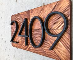 Excited to share the latest addition to my shop: Address Plaque, Number Si. Excited to share Beach Cottage Style, Beach Cottage Decor, Beach House, House Number Plaque, House Address Numbers, House Address Sign, Number Signs For House, House Numbers Modern, Diy House Numbers