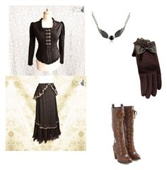 """""""old style techer"""" by saberblade572 on Polyvore featuring Dr. Martens and MBLife.com"""
