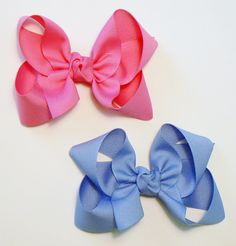 Hey, I found this really awesome Etsy listing at https://www.etsy.com/listing/110946241/large-hair-bow-set-big-girls-childrens