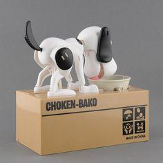 Dog Puppy Zapisz Oszczędzania Canine Skarbonki Banku Monety Głodny Jedzenia