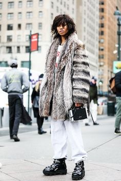 fwah2016 Street looks a la Fashion Week automne-hiver 2016-2017 de New York 4
