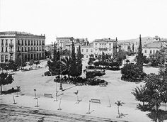 Omonoia Square, 1893 | Adjusted from public domain image in … | Flickr