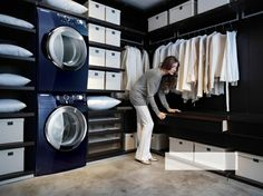 Washer/Dryer in the closet