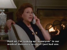 """The show can always depend on Emily's flair for the dramatics to keep things interesting. 