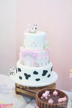 Festa fazendinha rosa | Festa infantil | Festa menina | Festa decorada…