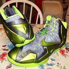 Nike lebron 11 dunkman pe. Via kicksordie