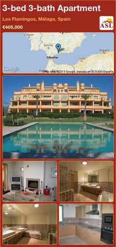 3-bed 3-bath Apartment in Los Flamingos, Málaga, Spain ►€405,000 #PropertyForSaleInSpain