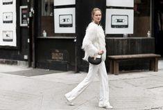 monochrome matters white chloe bag street style asia typek garance dore photos