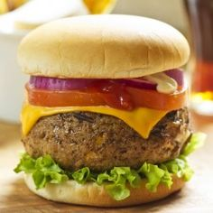Burgers with cheese