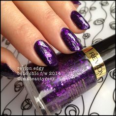 Revlon Edgy - limited edition  - Boho Chic collection F/W 2014. All the swatches @imabeautygeek.com