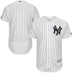 best sneakers ac13d 564aa New York Yankees Majestic Home Flex Base Authentic Collection Team Jersey -  White Navy -