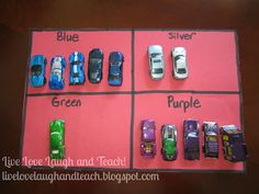 Sorting cars by color!