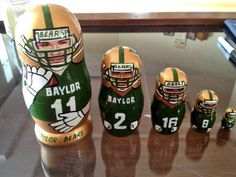 No. Way. #Baylor football nesting dolls! #SicEm