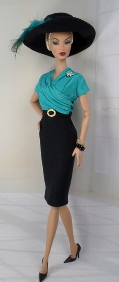 Up to Something for Silkstone Barbie and by MatisseFashions, $85.00