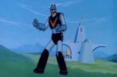 Korean Nationalists Plan to Erect Giant Robot Sculpture from Cartoon on Disputed Island - Neatorama