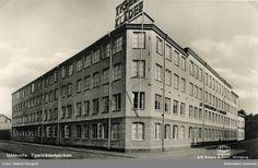 Tigerfabriken. Schwartzman & Nordström konfektionsfabrik på S:a Drottninggatan-Södergatan, ca 1930-1945