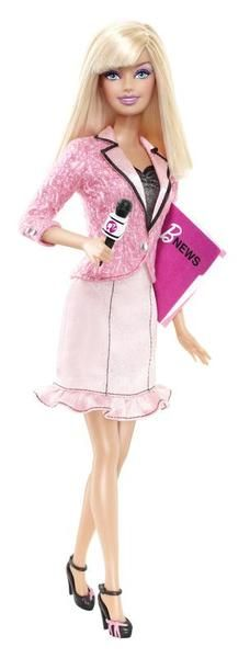 Barbie  I Can Be A TV News Anchor