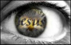 Den Blick auf Jesus gerichtet
