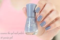 essence the gel nail polish - 87 gossip girl