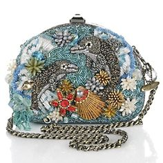 "So so cute Mary Francis ""Dolphin"" beaded bag!"