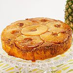 pineapple upside down cake; subsitute coconut oil for butter and yogurt for sour cream