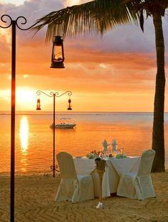Perfect romantic dinner