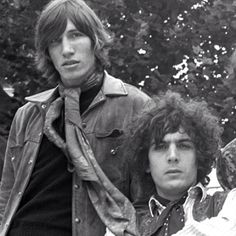 Roger Waters and Syd Barrett