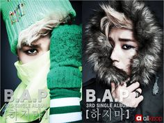 B.A.P releases teaser photos for Jongup and Zelo