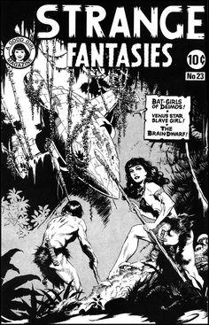 Strange Fantasies 23 Cover - Mark Schultz