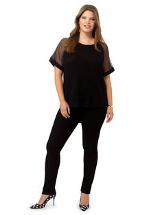 Cam Short Sleeve Blouse by @junaroseglobal  Available in sizes 0X-3X