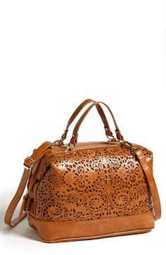 62e8678a35 Sole Society  Camille  Laser Cut Satchel available at  Nordstrom Cute  Handbags