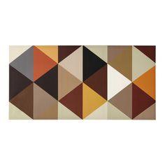 Tela multicolore 60 x 120 cm GEOMETRIC