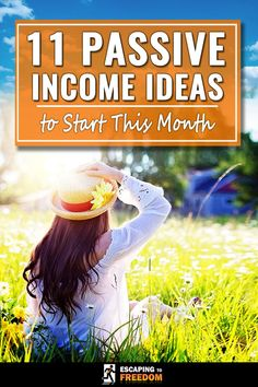 Check this out. If you want to earn some money on the side without having to do much work, you need passive income! Here you'll find 11 passive income ideas that you can start RIGHT NOW! Give them a go!